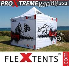Racing tent 3x3 m, Limited edition