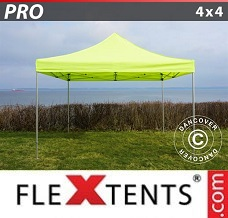 Racing tent 4x4 m Neon yellow/green