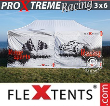 Racing tent 3x6 m, Limited edition